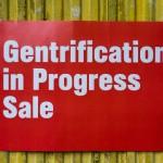 Gentrification In Progress Sale - NY Times