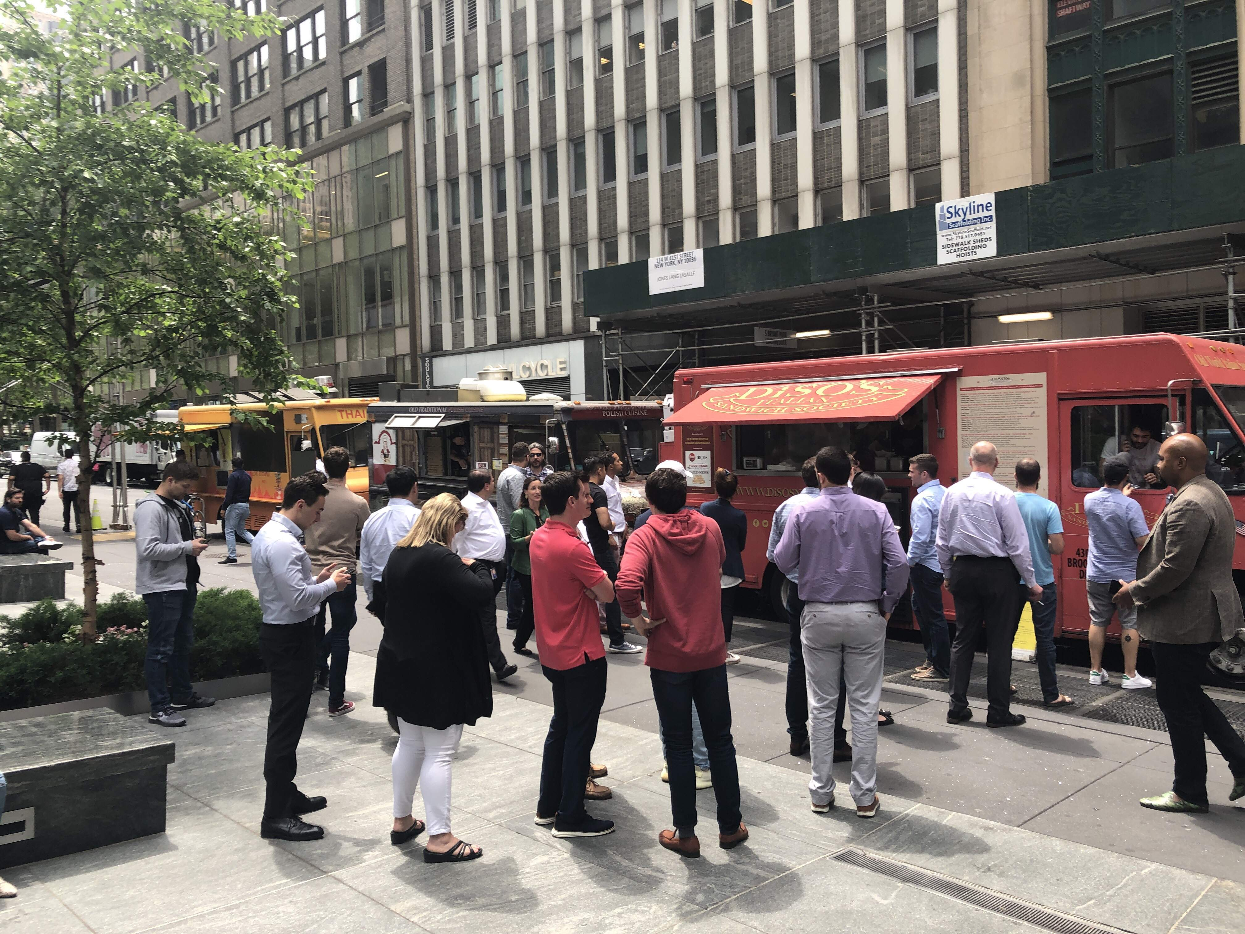 food trucks midtown